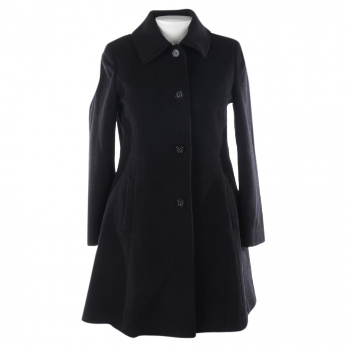 Lauren Ralph Lauren \N Black Wool jacket for Women 40 FR