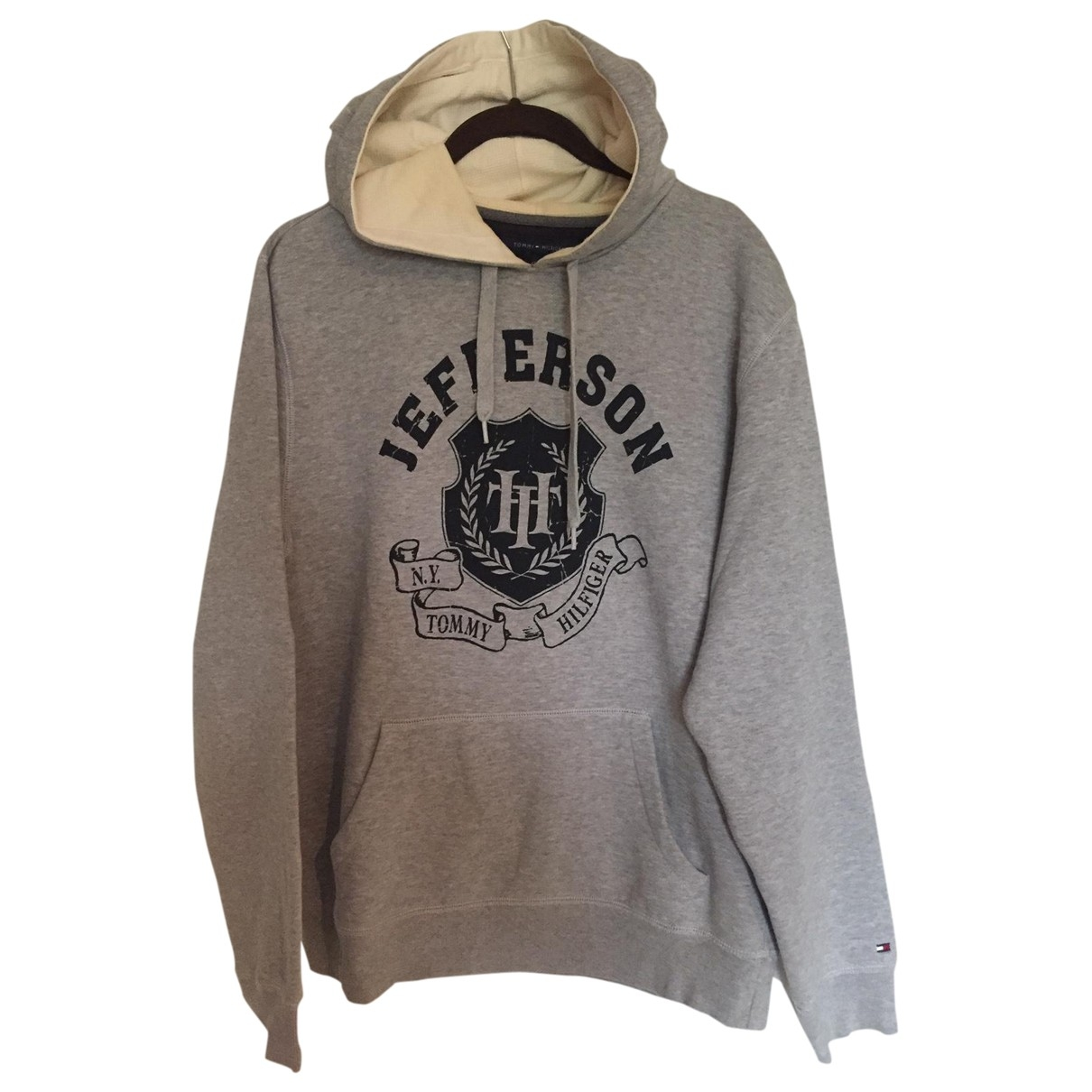 Tommy Hilfiger \N Grey Cotton Knitwear & Sweatshirts for Men M International