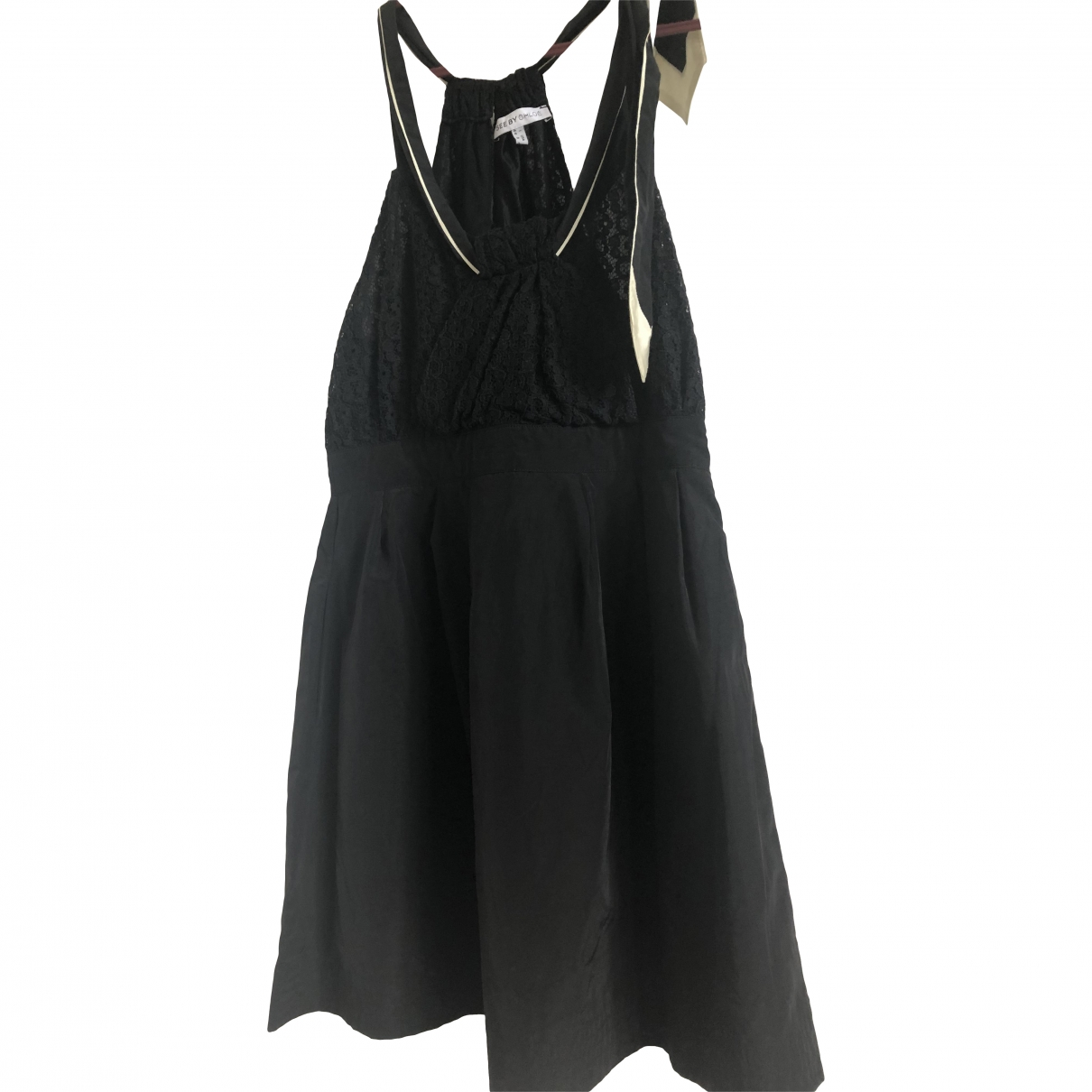 See By Chloe \N Kleid in  Schwarz Baumwolle - Elasthan