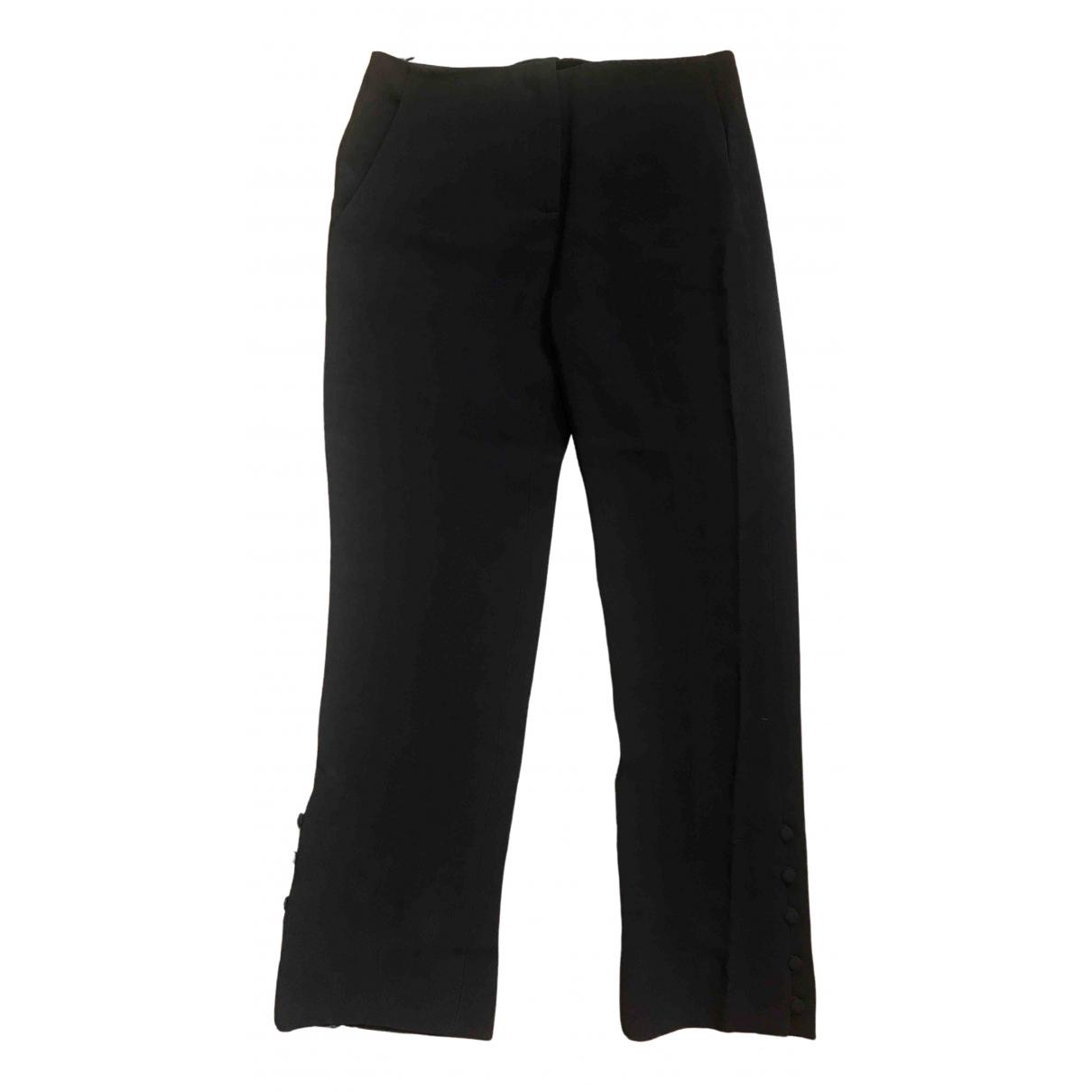 Miu Miu \N Navy Trousers for Women 36 IT