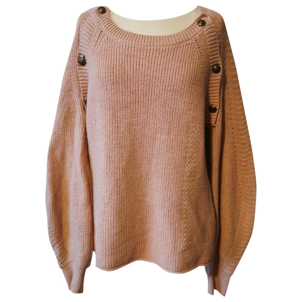 Ba&sh \N Pink Wool Knitwear for Women 3 0-5