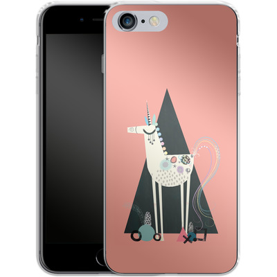Apple iPhone 6s Plus Silikon Handyhuelle - Unicorn Triangle von Victoria Topping