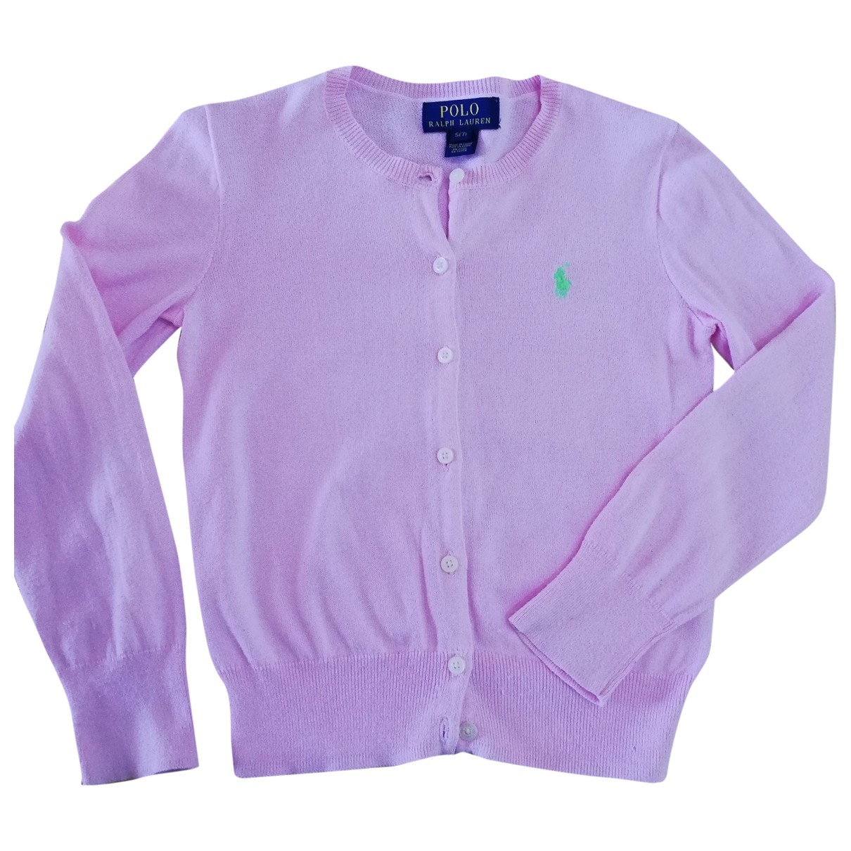 Polo Ralph Lauren - Pull   pour enfant en coton - rose