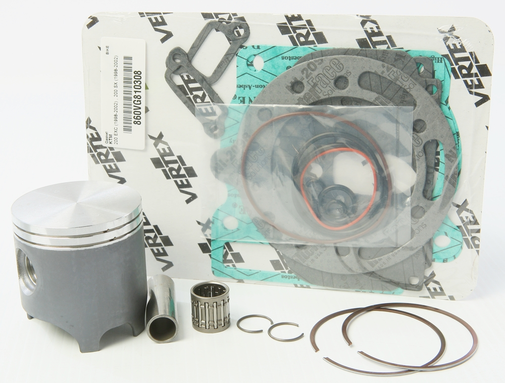 Vertex Top End Piston Kit (63.960mm) KTM 200 EXC 1998-2002