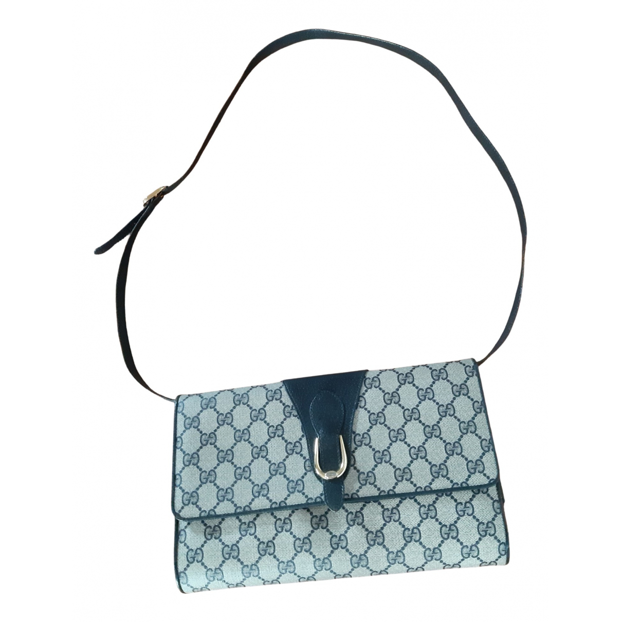 Gucci - Sac a main   pour femme en toile - bleu