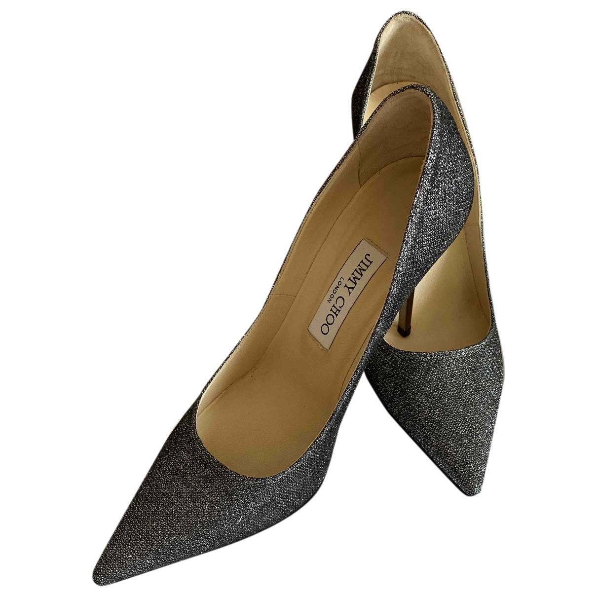 Jimmy Choo \N Pumps in  Metallic Mit Pailletten