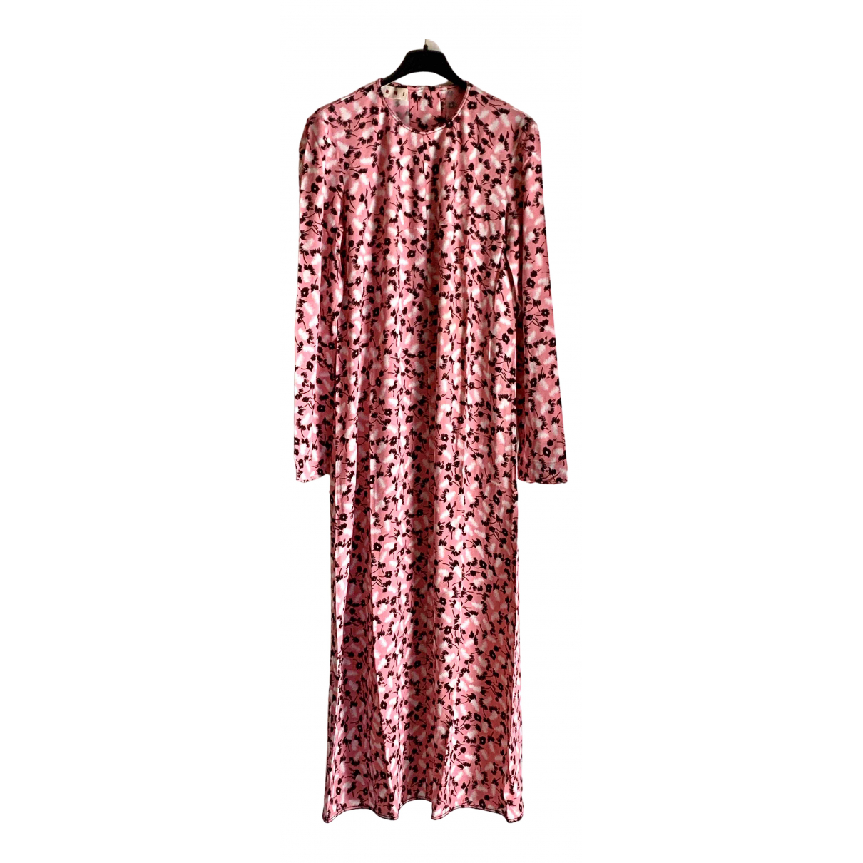 Marni \N Kleid in  Rosa Viskose