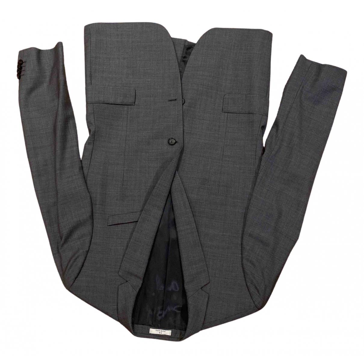 De Fursac - Costumes   pour homme en laine - gris