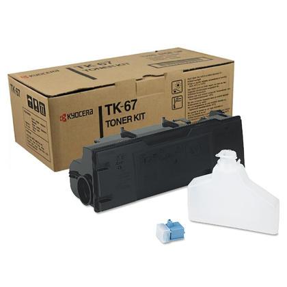 Kyocera-Mita TK67 originale Black Toner Cartridge