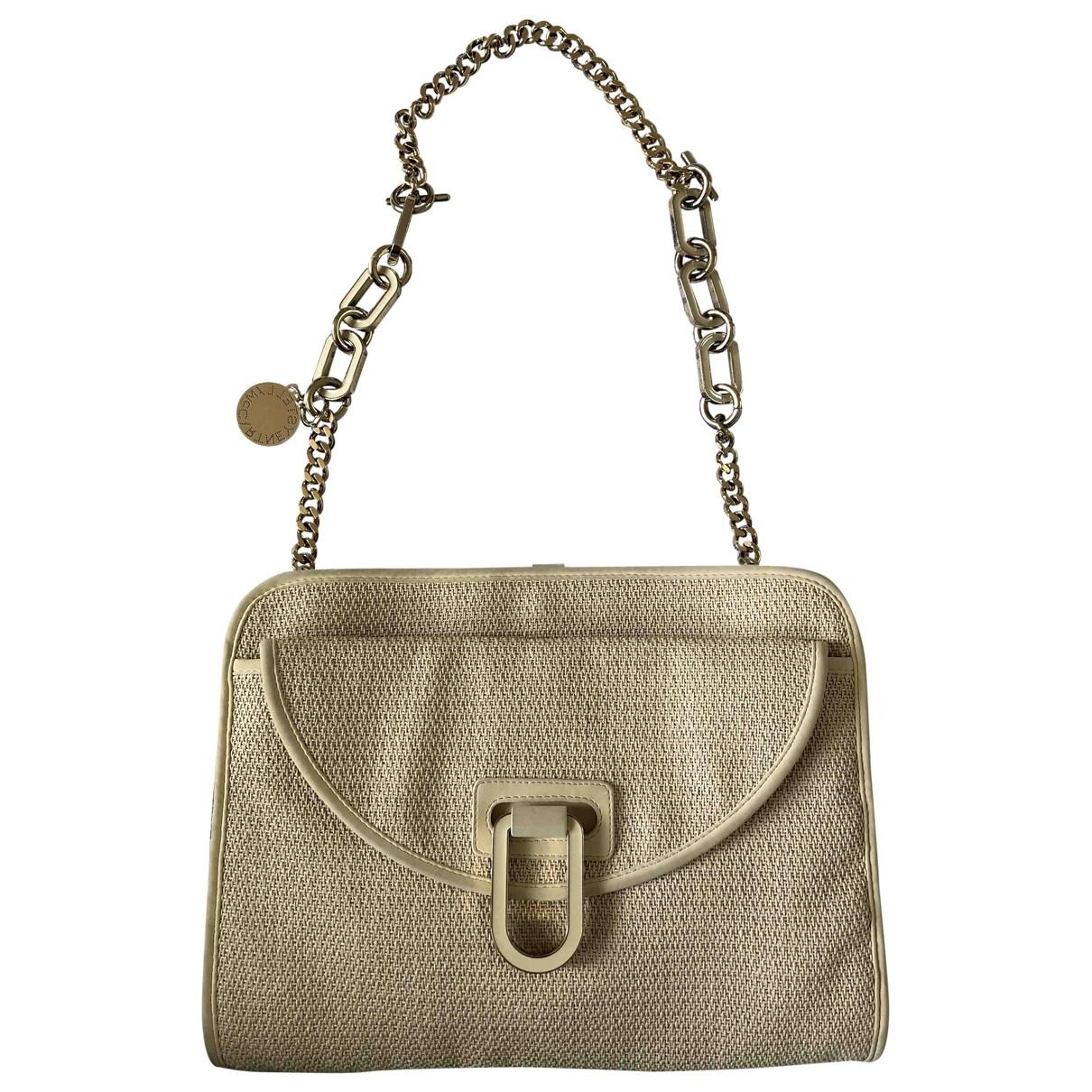 Stella Mccartney \N Handtasche in  Beige Leinen