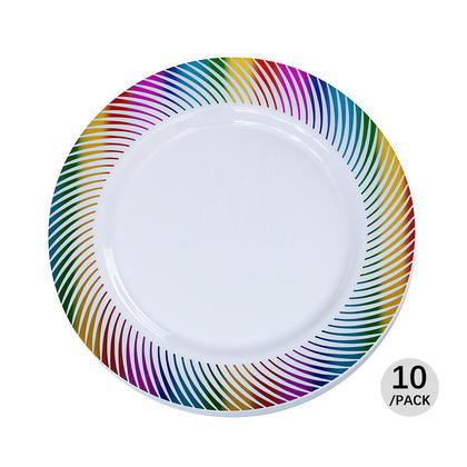 Premium Plastic Party Plate 10.25