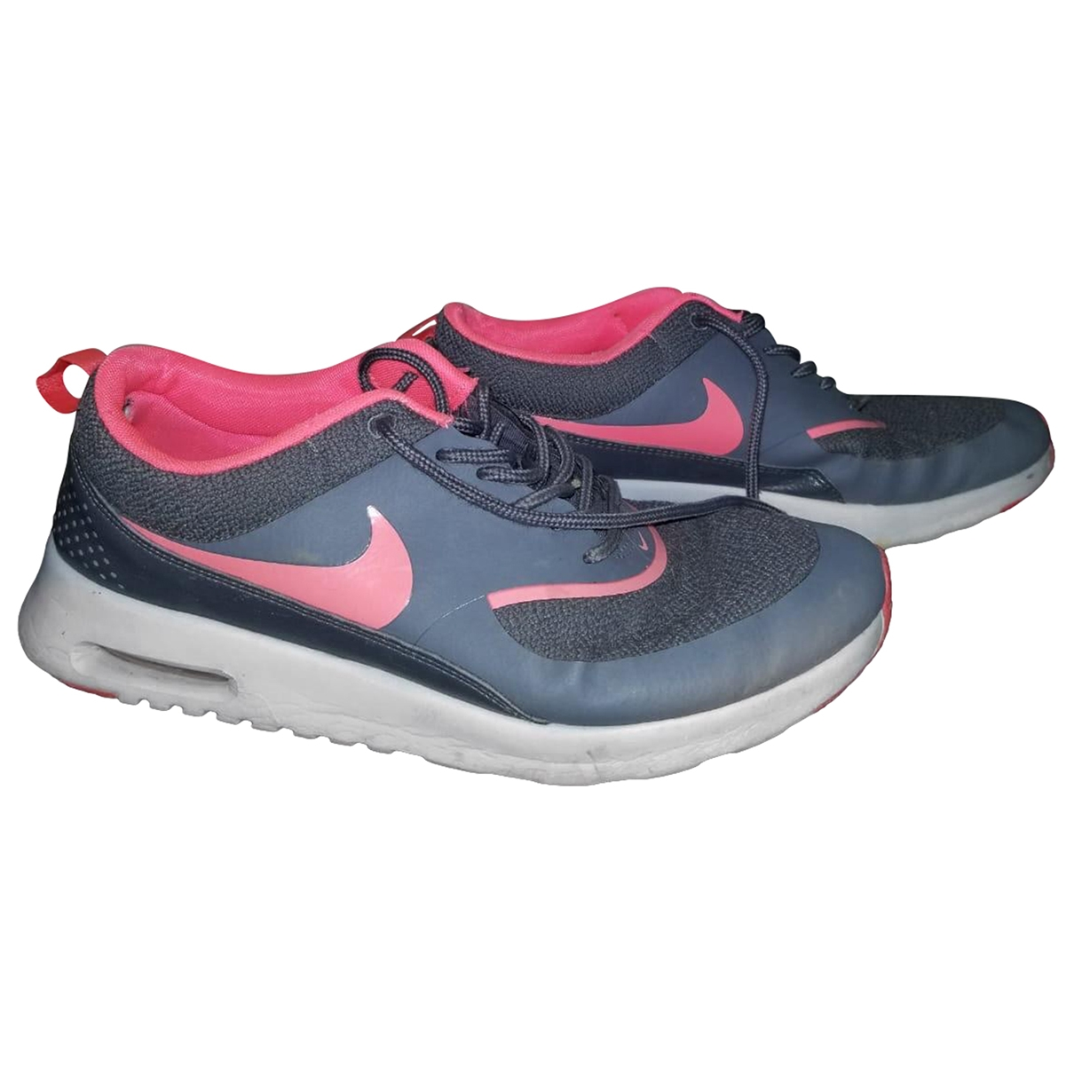 Nike Air Max  Grey Cloth Trainers for Women 42 EU