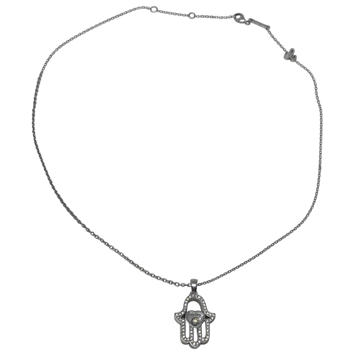 Chopard Happy Diamonds White gold necklace for Women \N