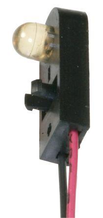 Optek OPB100-EZ , 880nm IR LED, Snap-In package (2)
