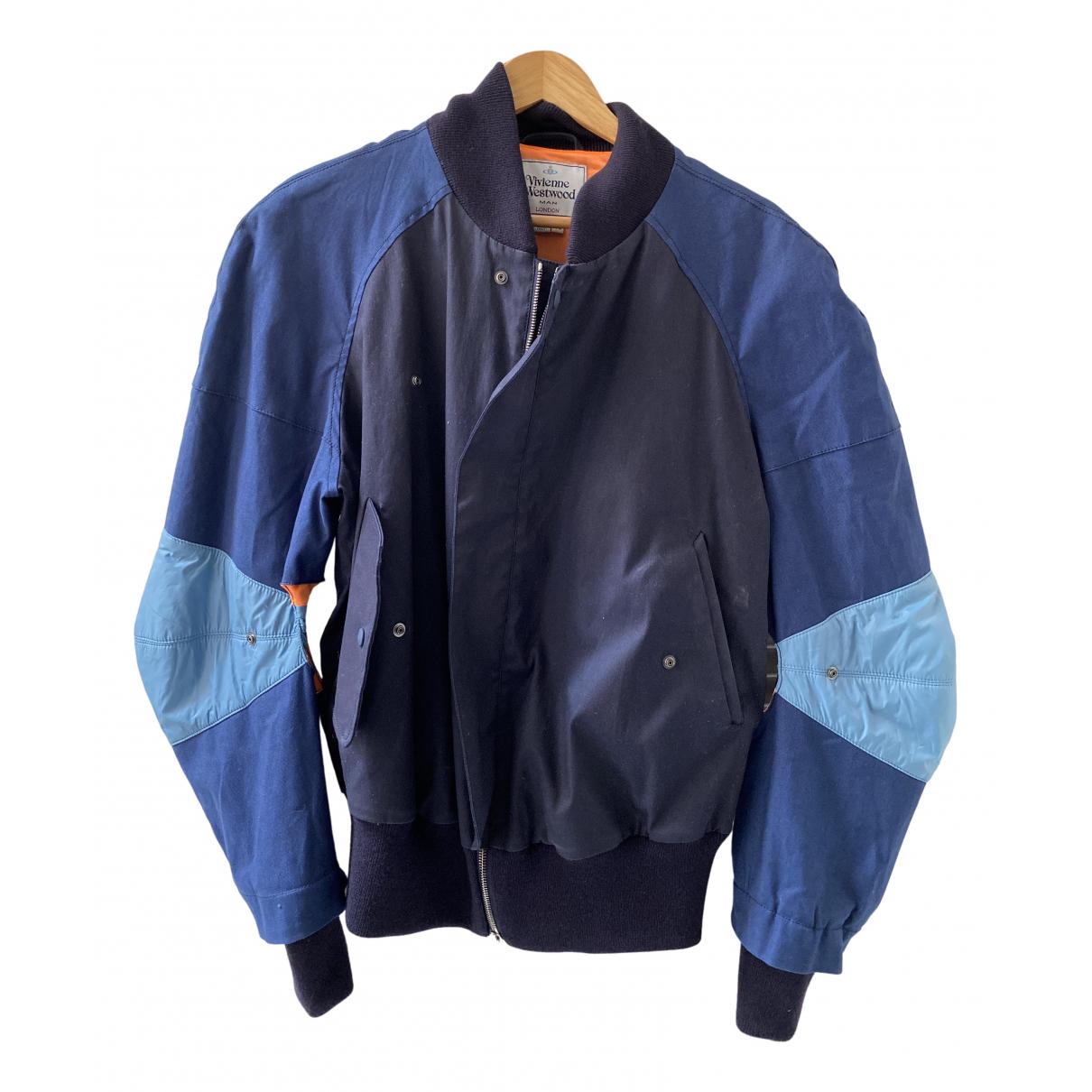 Vivienne Westwood \N Jacke in  Blau Polyester