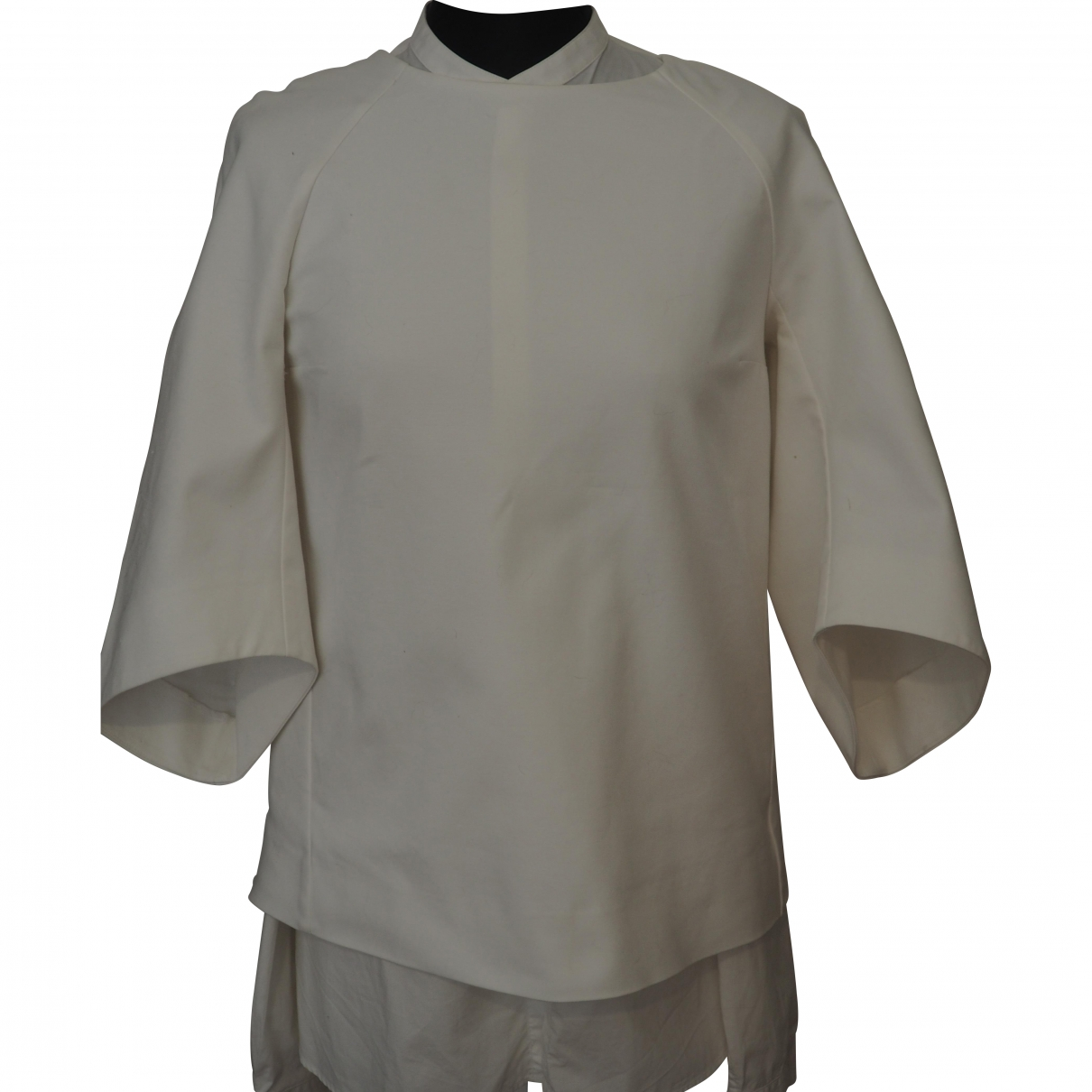 Zara - Veste   pour femme - blanc