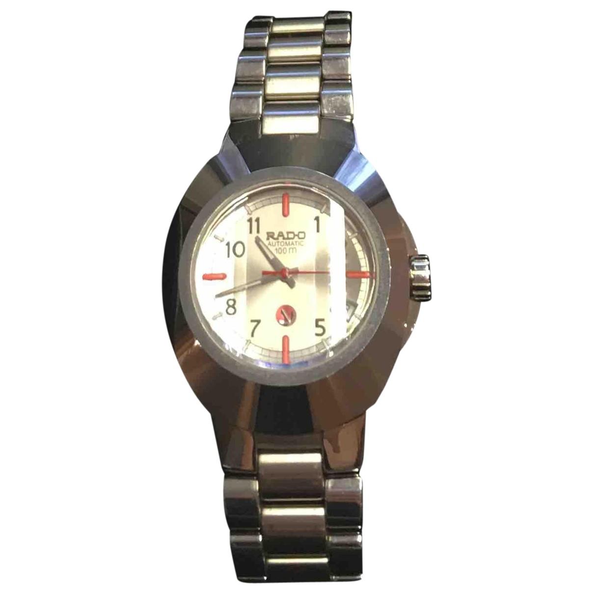 Rado \N Uhr in  Silber Titan