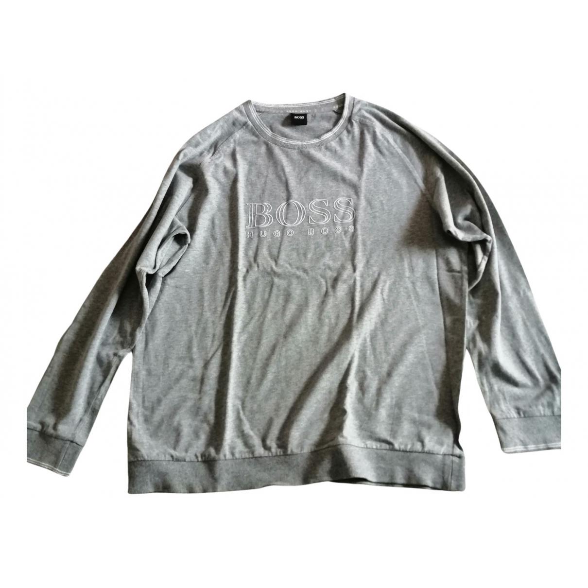Boss N Grey Cotton Knitwear & Sweatshirts for Men XXL International