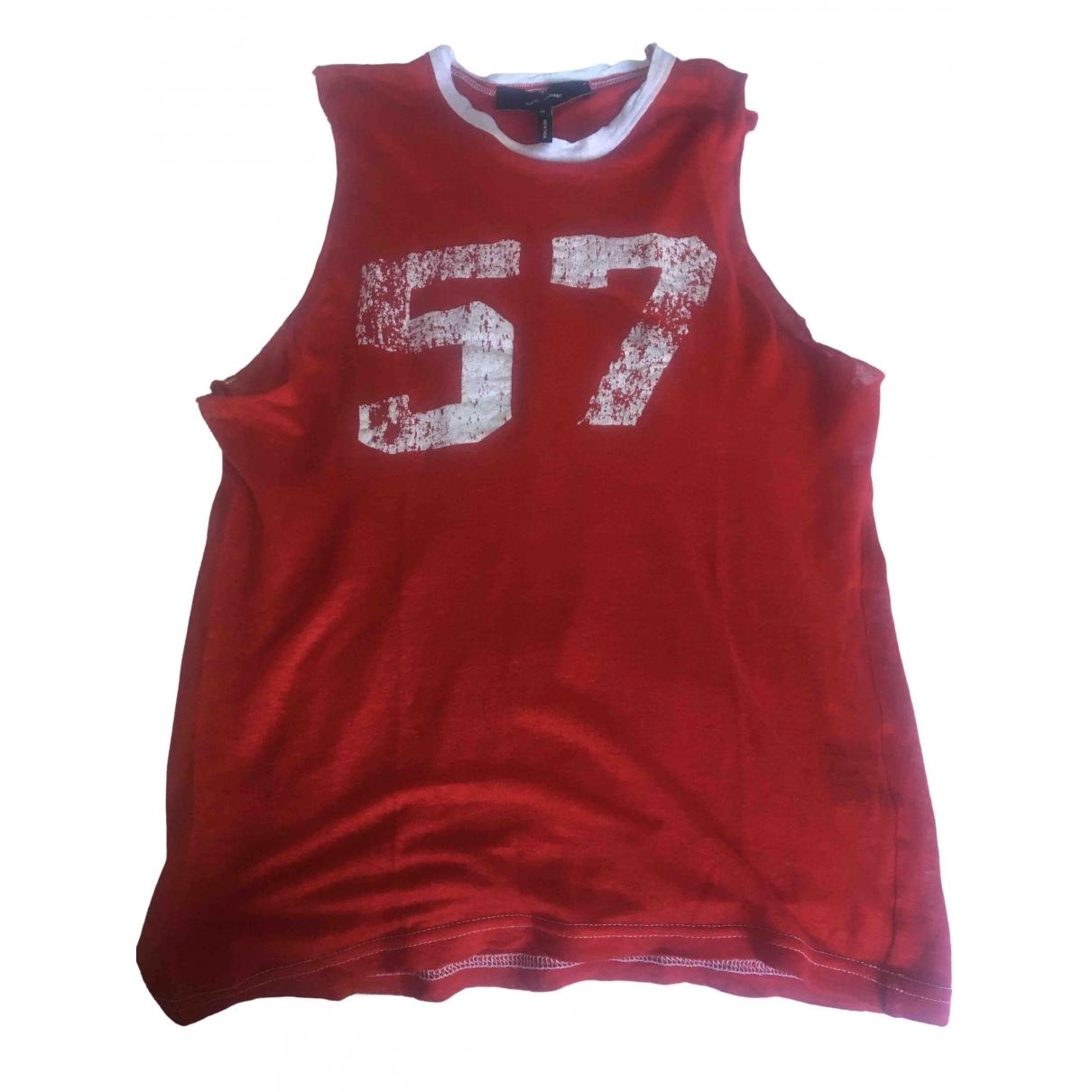 Camiseta sin mangas de Lino Isabel Marant