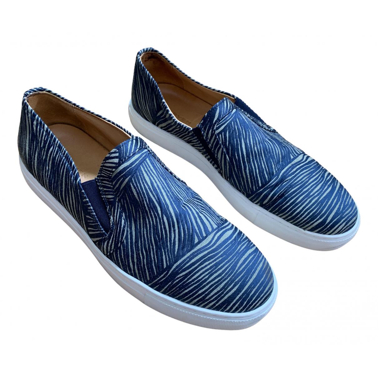 Carven \N Sneakers in  Bunt Leinen