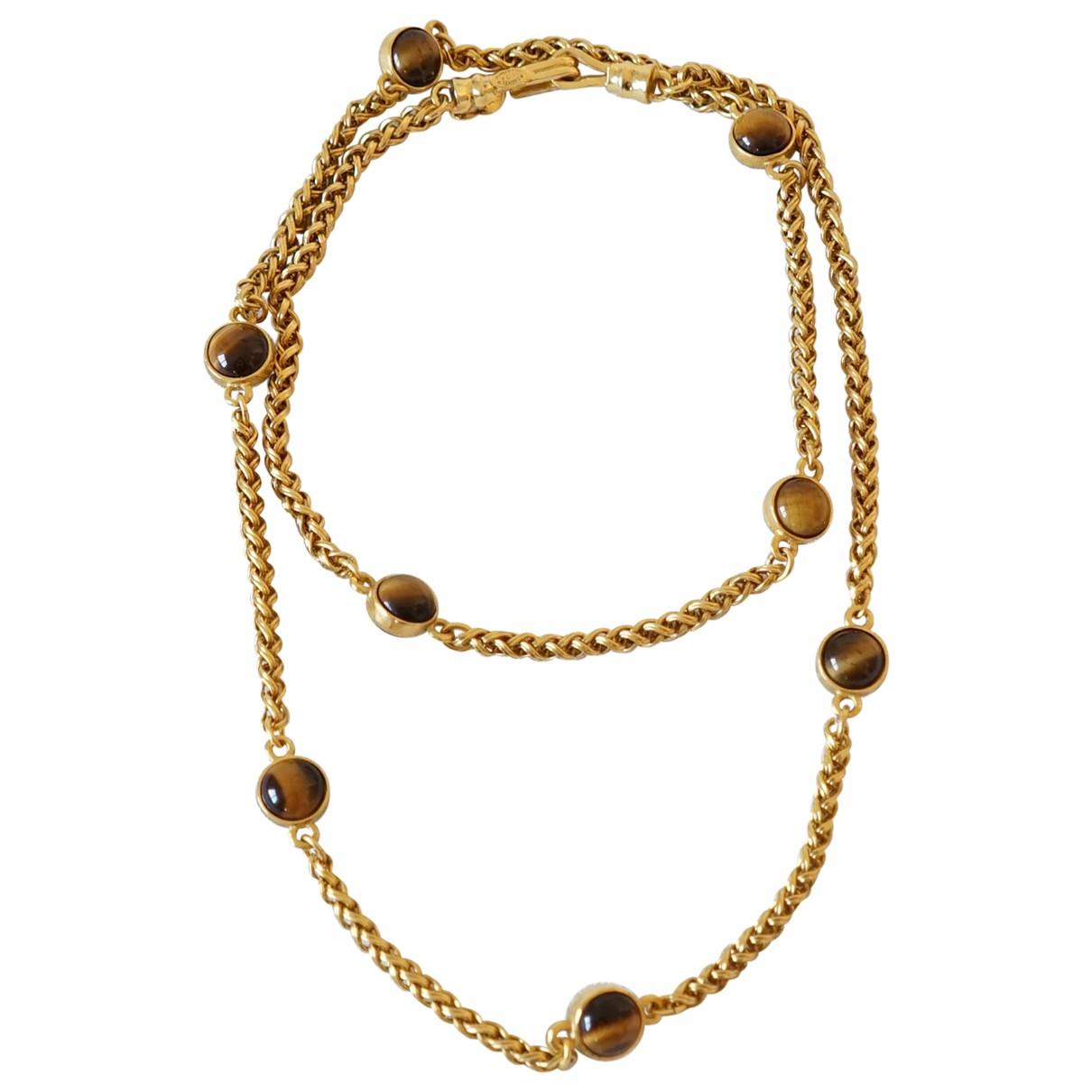 Collar largo Gripoix Chanel