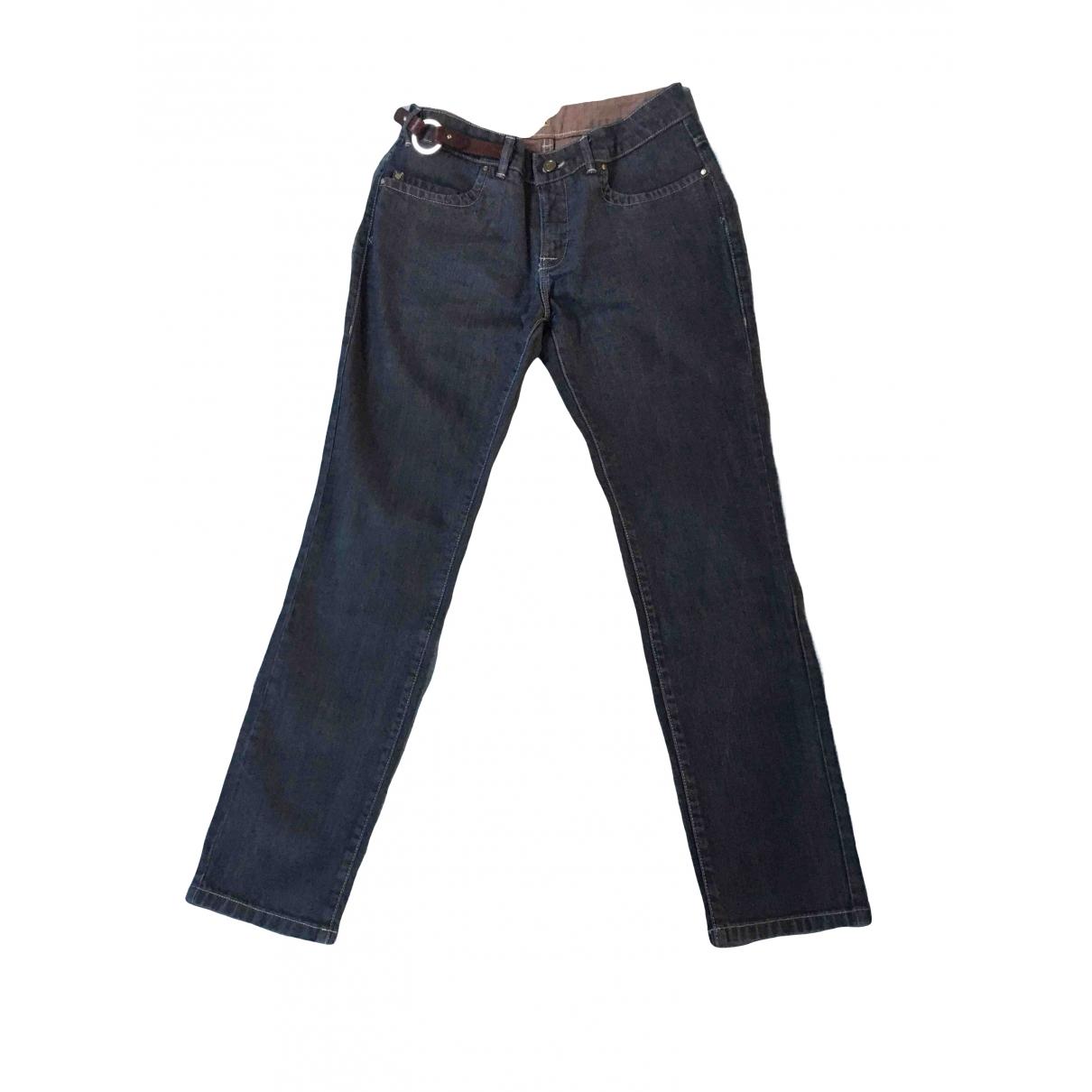 Pantalon recto Trussardi Jeans