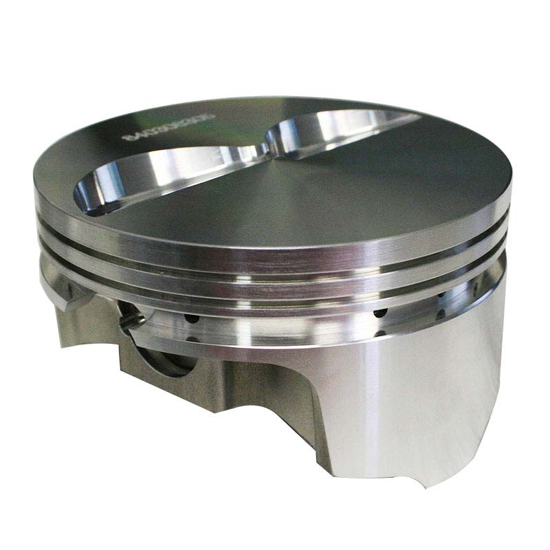 Pro Max Pistons; Chevy 2618 Forged 23 Degree Flat Top -5.0cc Howards Cams 840306305R 840306305R