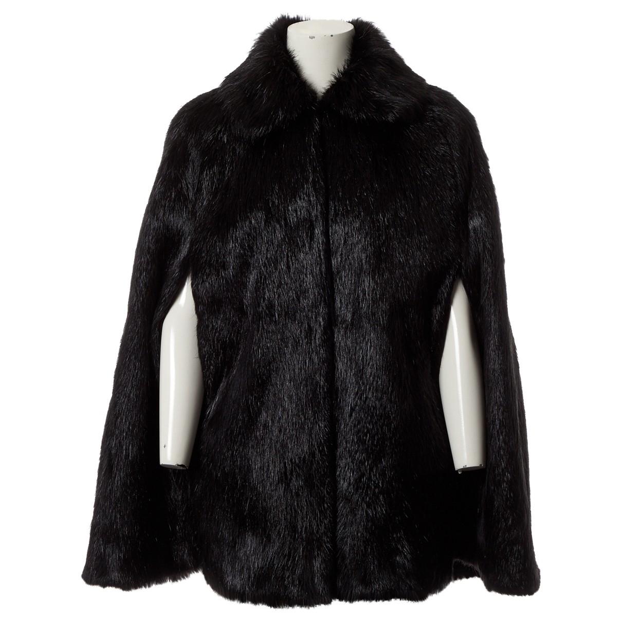 Dolce & Gabbana \N Black Beaver jacket for Women 40 IT