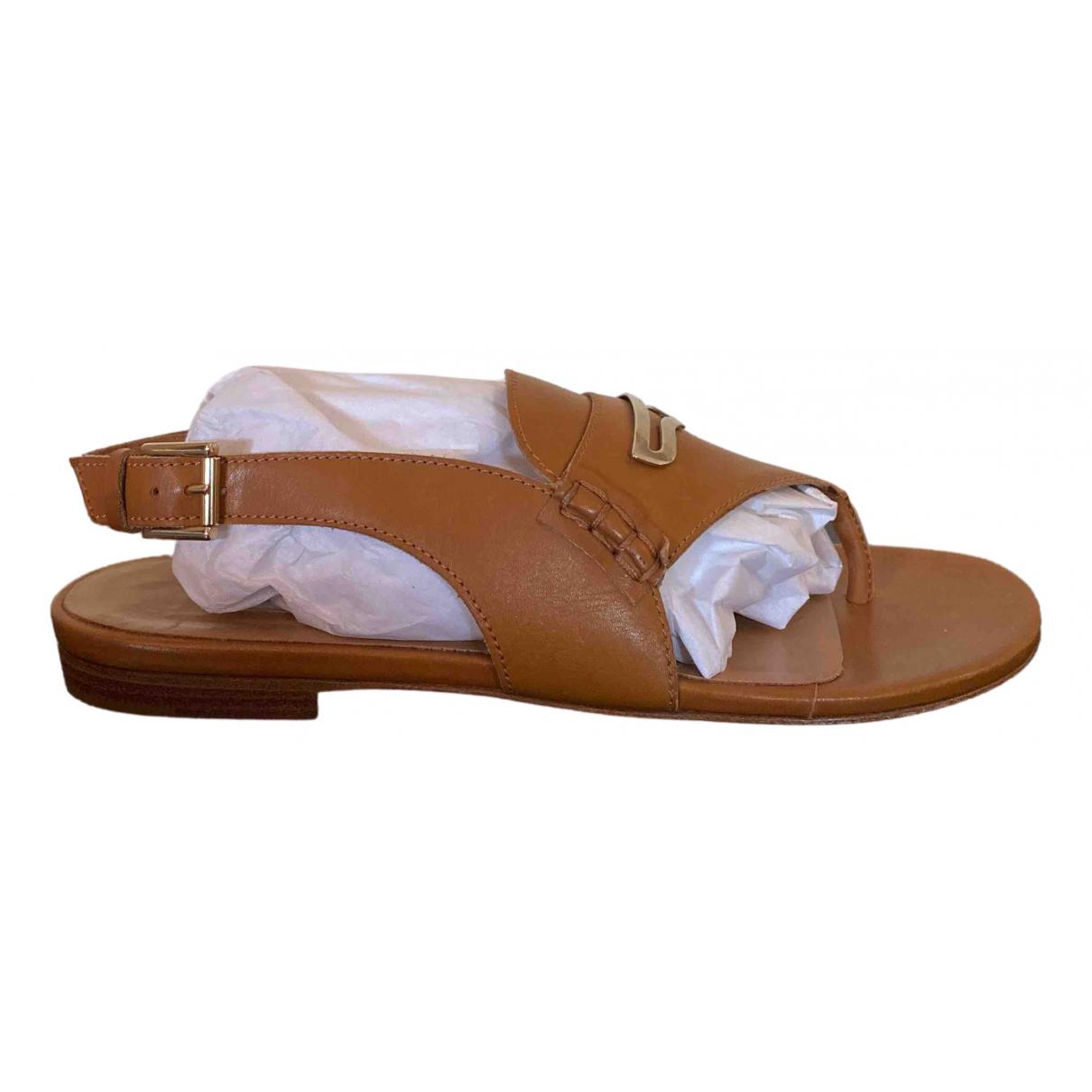 Sandalias de Cuero Fratelli Rossetti