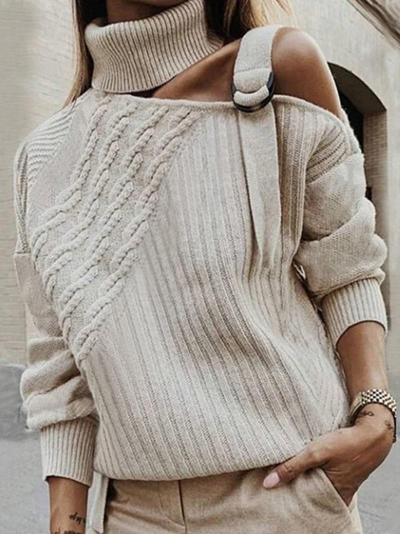 Ericdress Regular Standard Turtleneck Women's Sweater