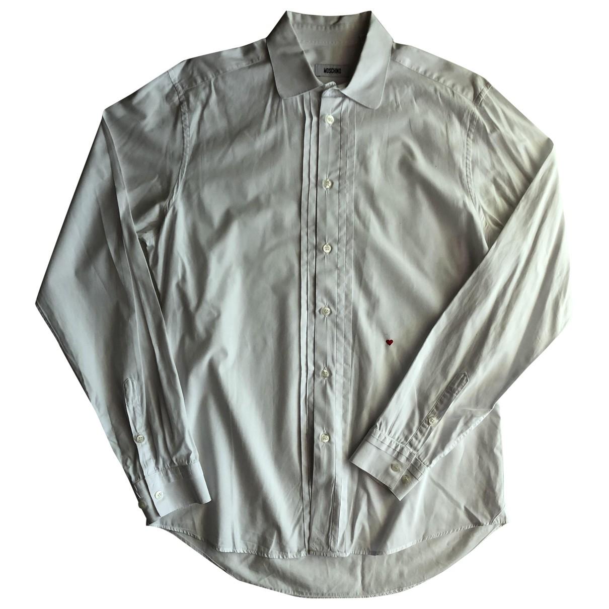 Moschino \N Hemden in  Weiss Baumwolle