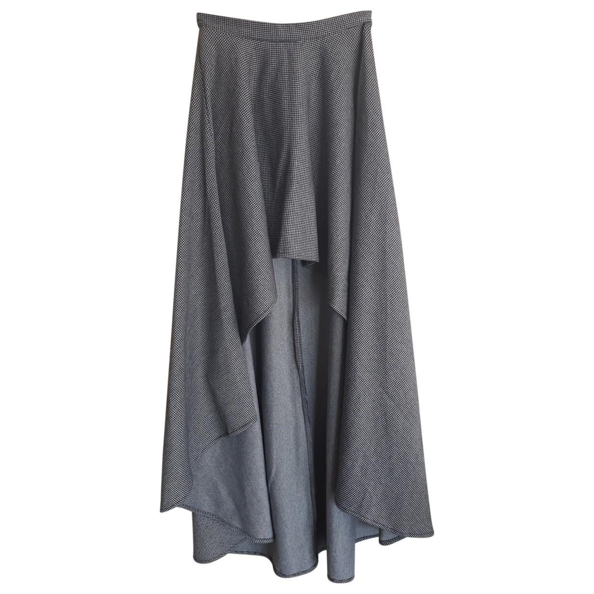 - Jupe   pour femme - gris