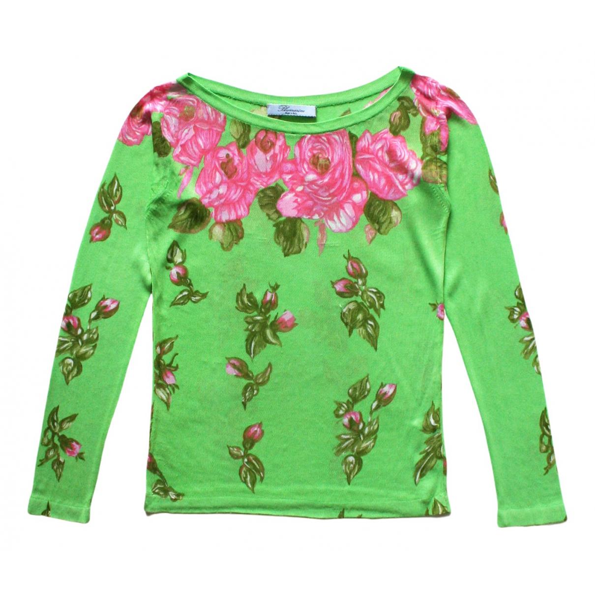 Blumarine N Green Knitwear for Women 40 IT