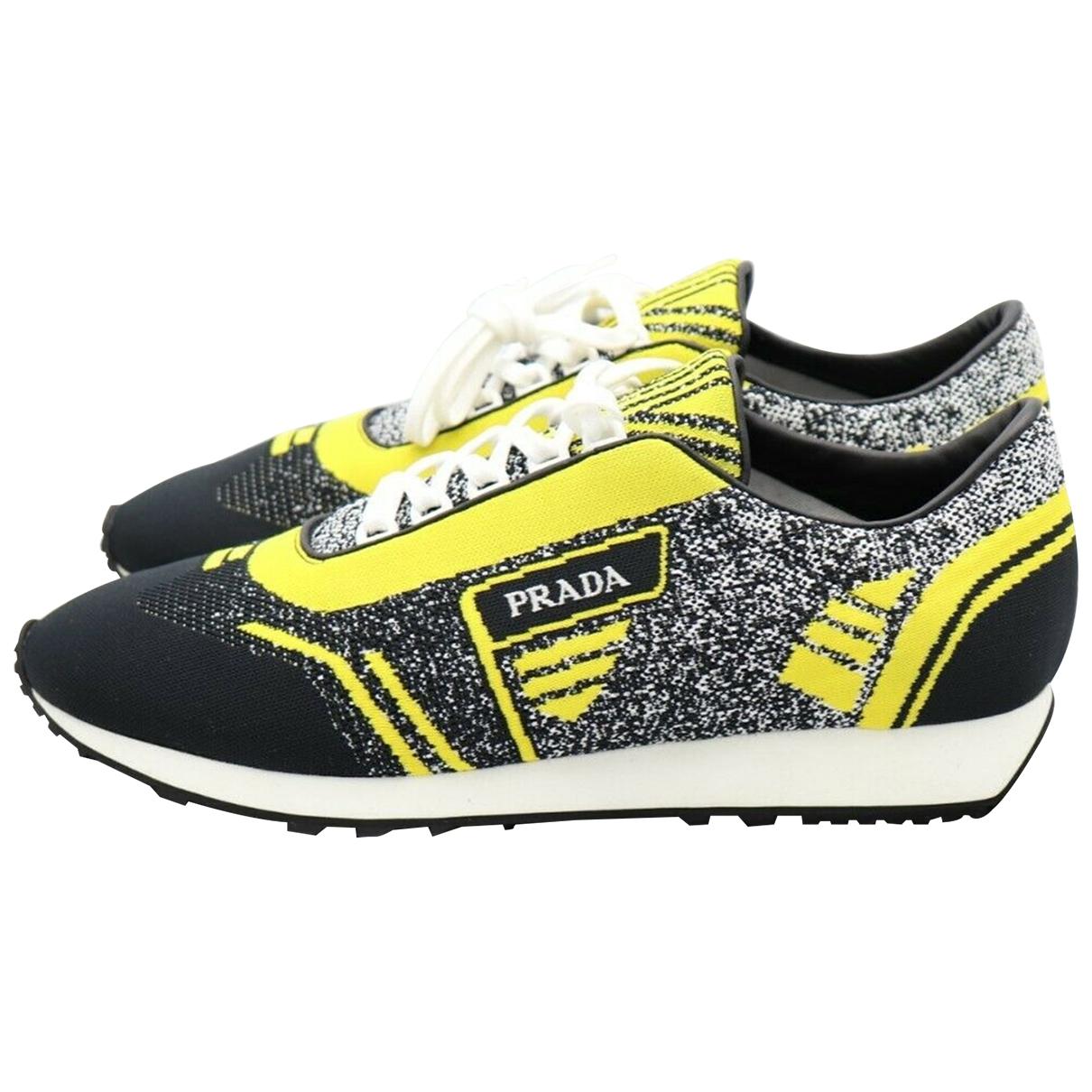 Prada \N Multicolour Cloth Trainers for Men 9.5 UK