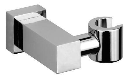 85020-85 Solid Brass Modern Hand Shower Holder  Designer Brushed Chrome