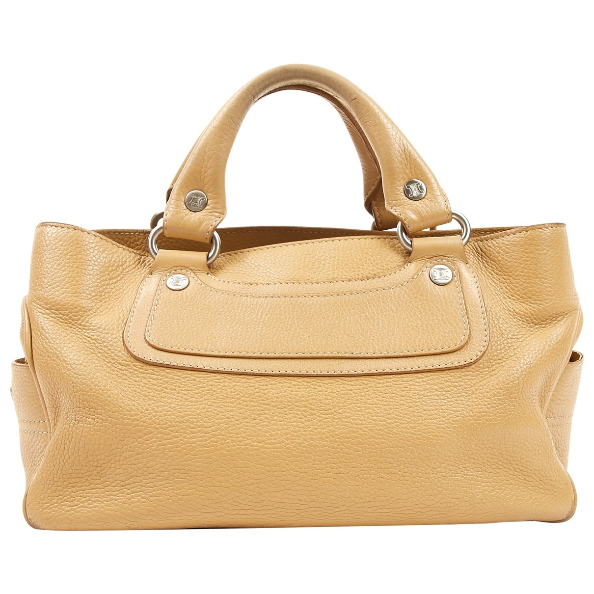 Celine Boogie Beige Leather handbag for Women \N