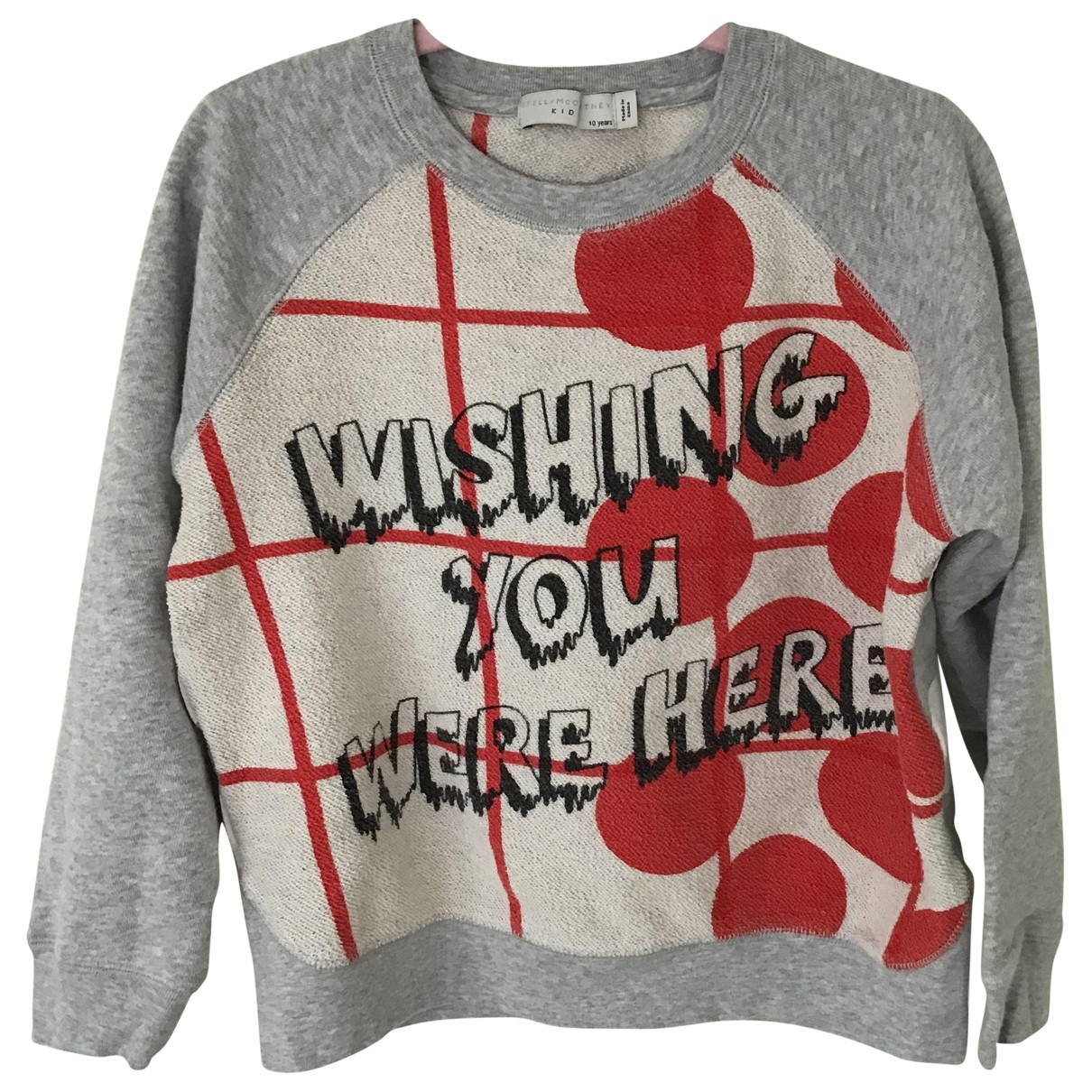 Stella Mccartney Kids \N Grey Cotton  top for Kids 10 years - until 56 inches UK