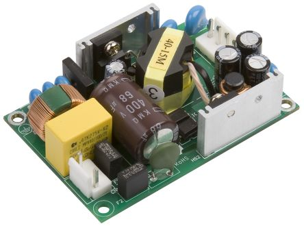 XP Power , 40W AC-DC Converter, 12V dc, Open Frame, Medical Approved