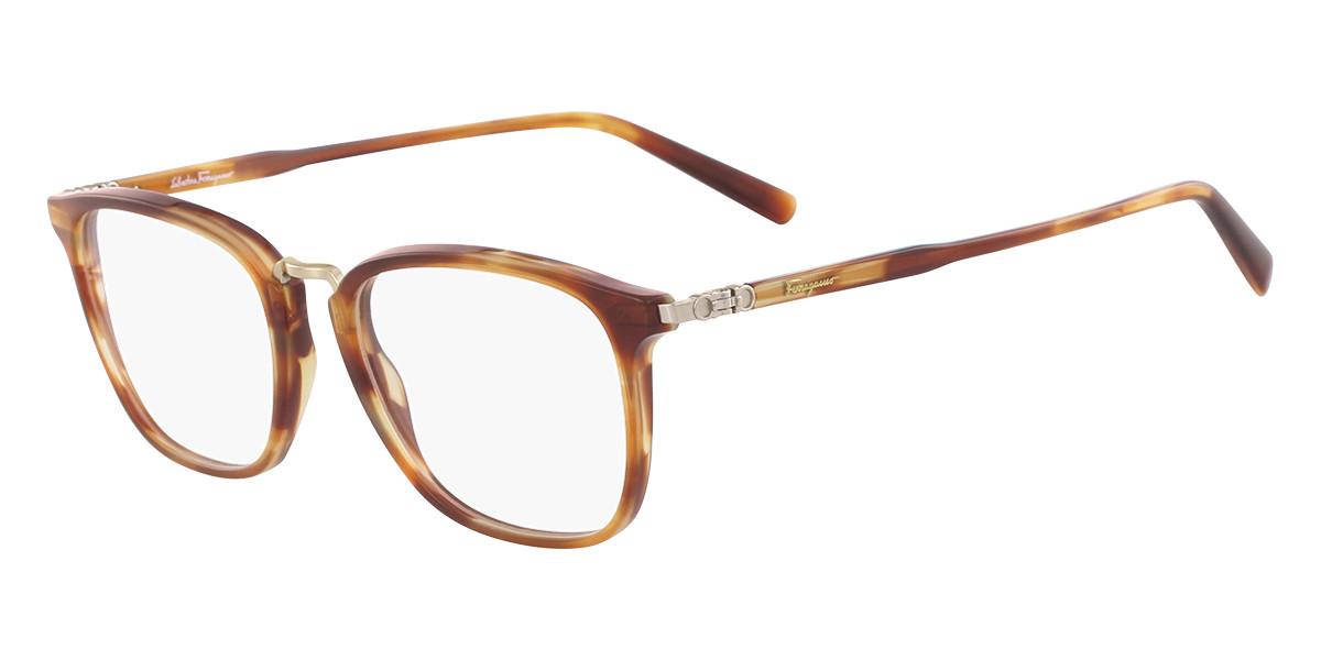 Salvatore Ferragamo SF 2822 214 Men's Glasses Tortoise Size 52 - Free Lenses - HSA/FSA Insurance - Blue Light Block Available