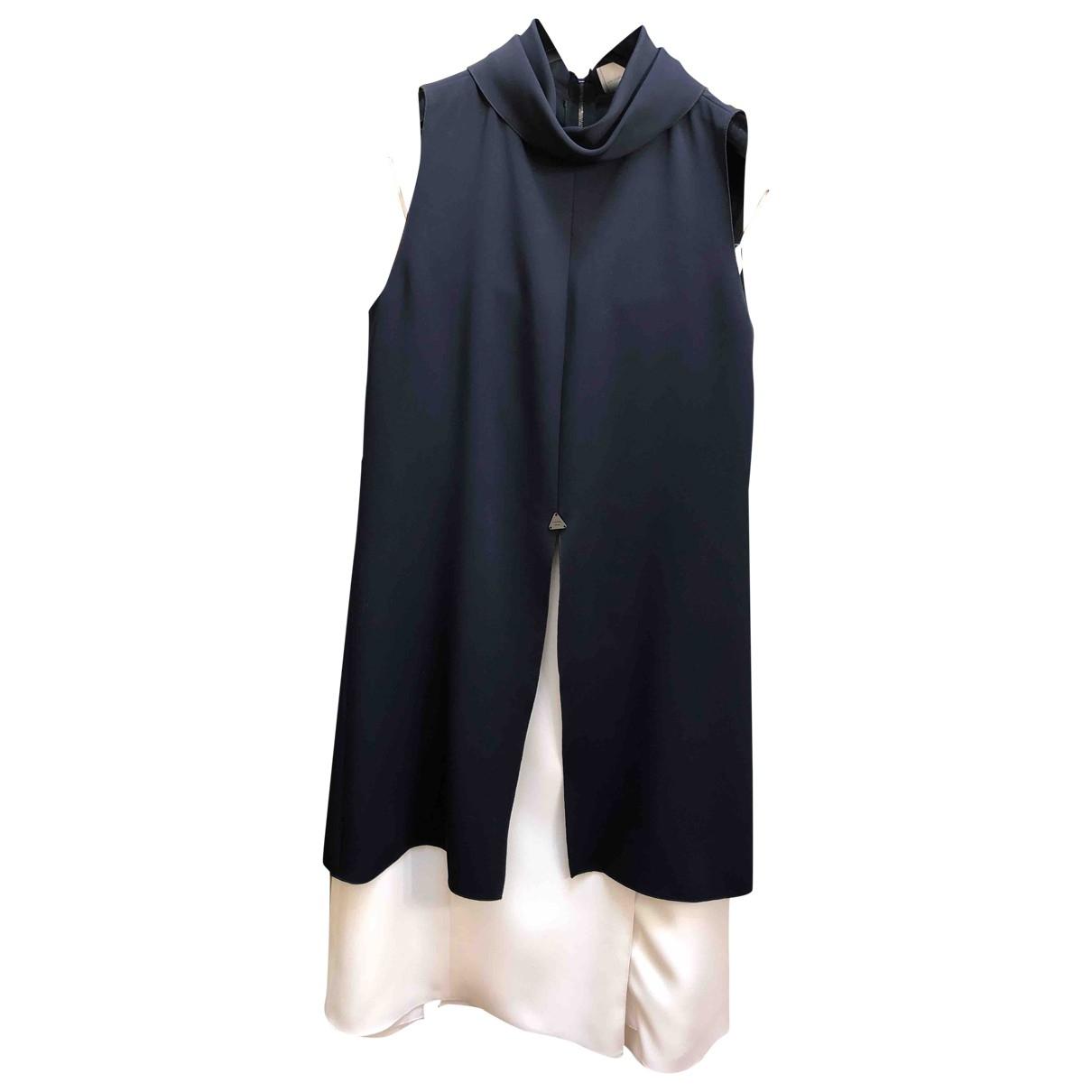 Chanel \N Kleid in  Blau Polyester
