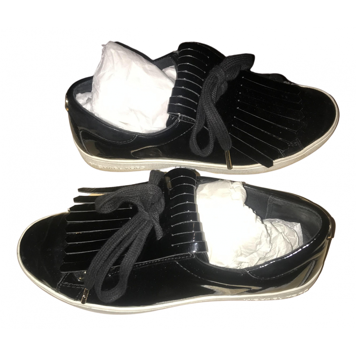 Michael Kors \N Black Patent leather Trainers for Women 36 EU