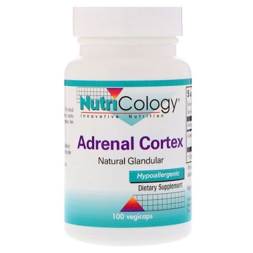 Adernal Cortex 100 Veg Caps by Nutricology/ Allergy Research Group