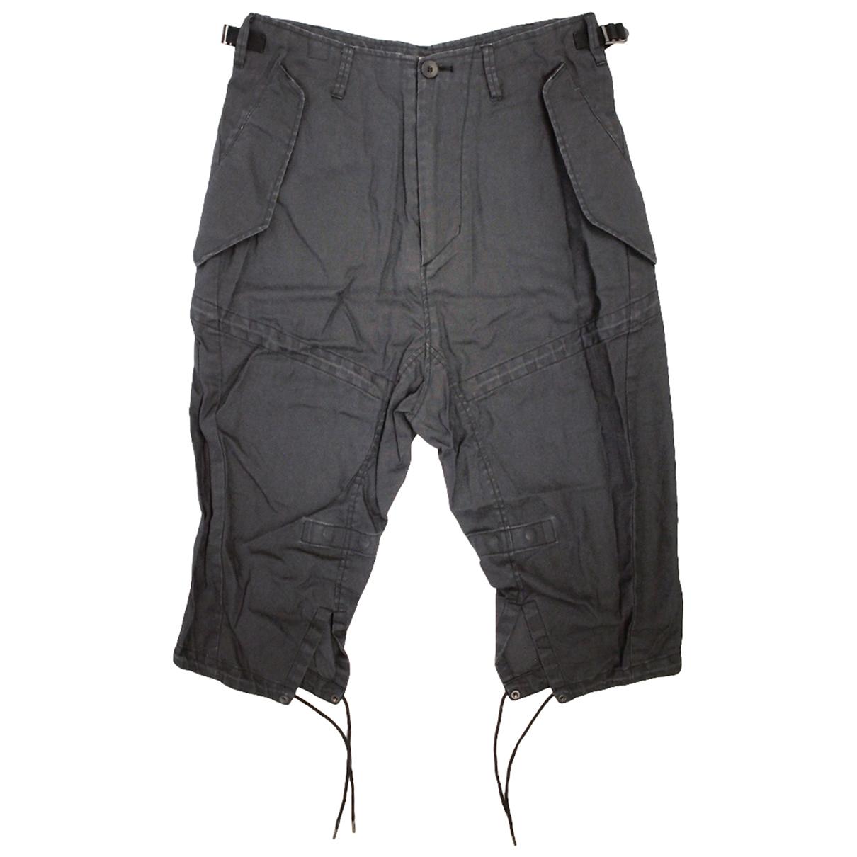Julius 7 \N Shorts in  Schwarz Baumwolle