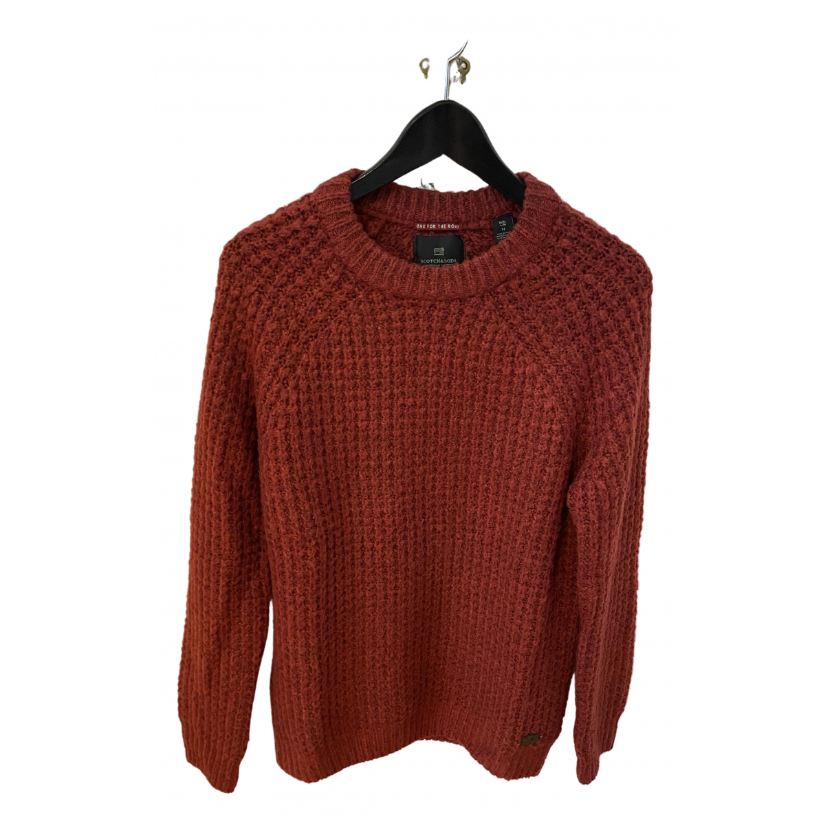 Scotch & Soda \N Pullover.Westen.Sweatshirts  Bordeauxrot