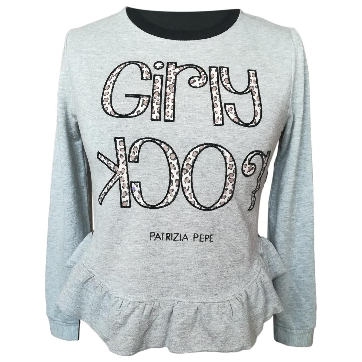 Patrizia Pepe N Grey Cotton Knitwear for Women S International
