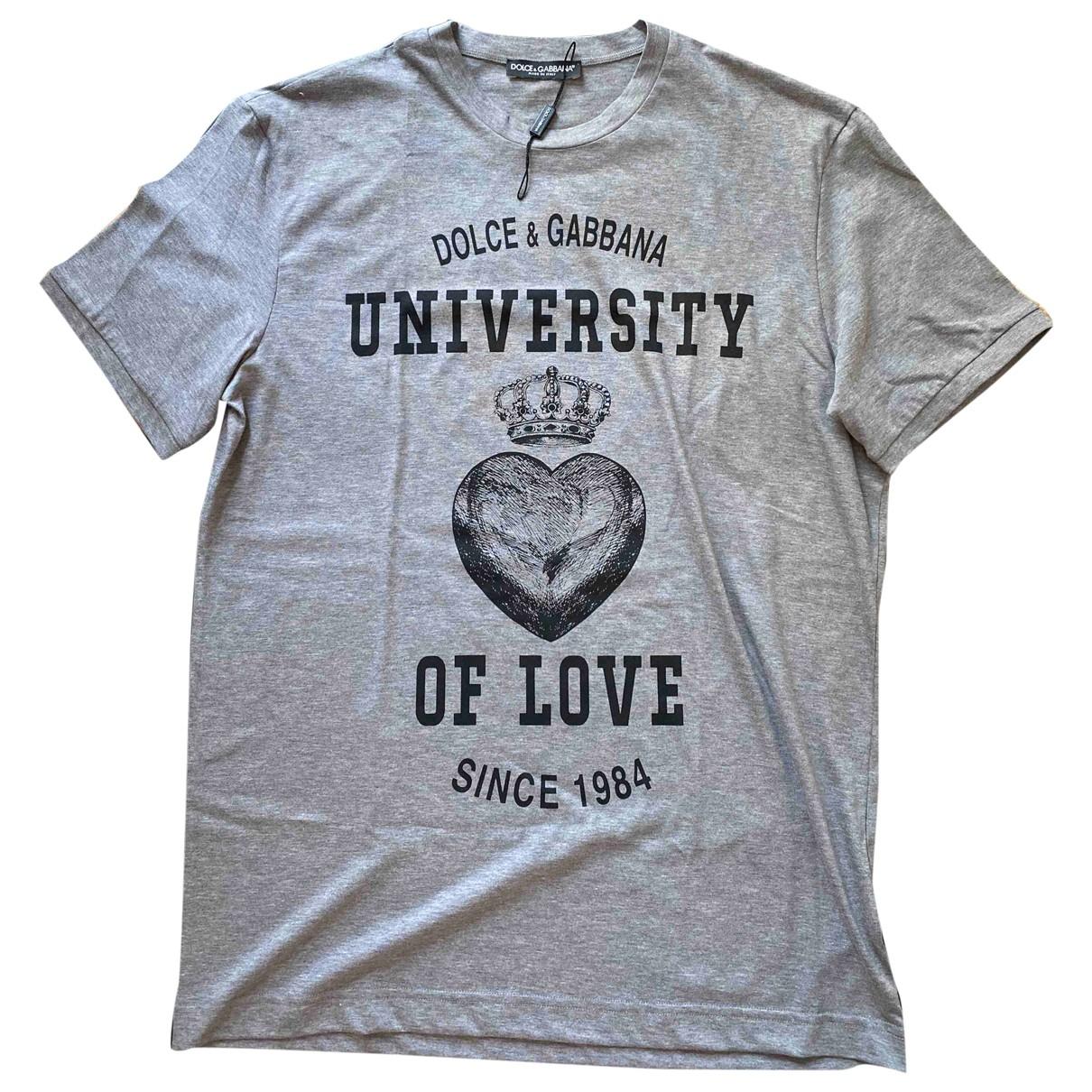 Dolce & Gabbana - Tee shirts   pour homme en coton - multicolore