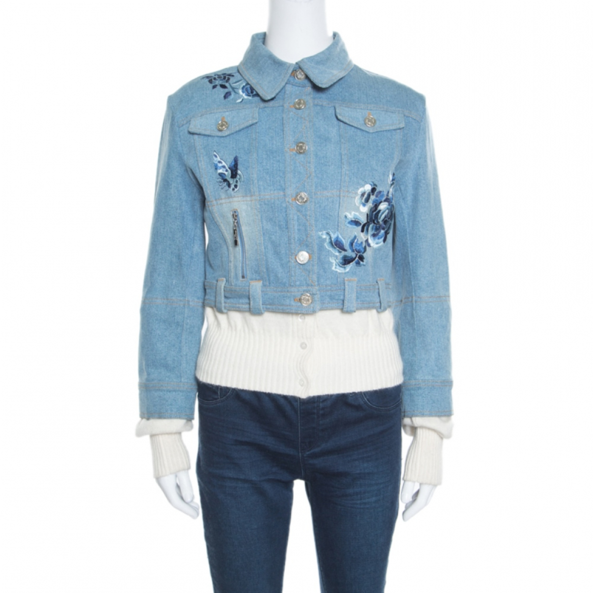 Dior \N Blue Cotton jacket for Women 8 US