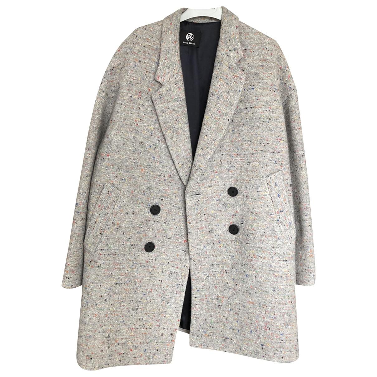 Paul Smith - Manteau   pour femme en laine - gris