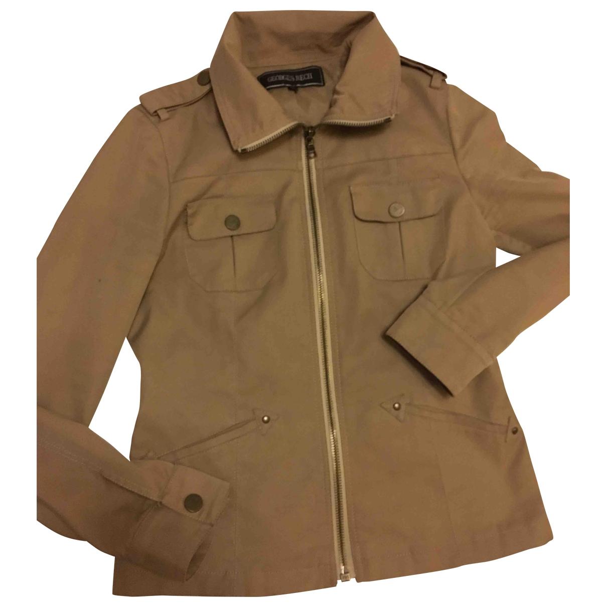 Georges Rech \N Beige Cotton jacket for Women 36 FR