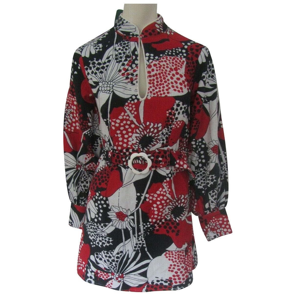 Rixo - Robe   pour femme en coton - multicolore